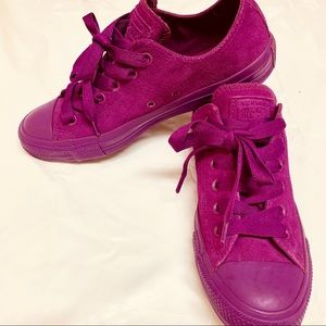 Bright Purple Suede/Magenta Unisex Converse M7/W9